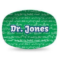 Equations Plastic Platter - Microwave & Oven Safe Composite Polymer (Personalized)