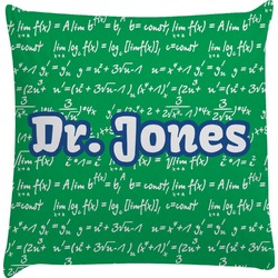 Equations Decorative Pillow Case (Personalized)