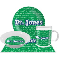 Equations Dinner Set - 4 Pc (Personalized)