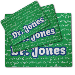 Equations Dog Food Mat w/ Name or Text