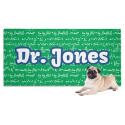Equations Dog Towel (Personalized)