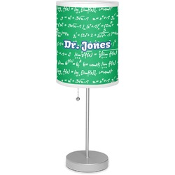 """Equations 7"""" Drum Lamp with Shade (Personalized)"""