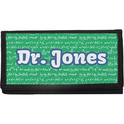 Equations Canvas Checkbook Cover (Personalized)