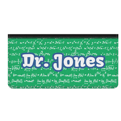 Equations Genuine Leather Checkbook Cover (Personalized)