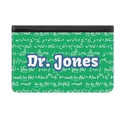 Equations Genuine Leather ID & Card Wallet - Slim Style (Personalized)