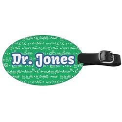 Equations Genuine Leather Luggage Tag (Personalized)