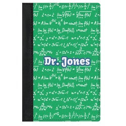 Equations Genuine Leather Passport Cover (Personalized)