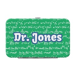 Equations Genuine Leather Small Framed Wallet (Personalized)