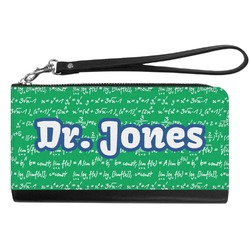 Equations Genuine Leather Smartphone Wrist Wallet (Personalized)
