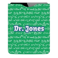 Equations Genuine Leather iPad Sleeve (Personalized)