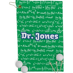 Equations Golf Towel - Full Print (Personalized)