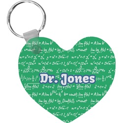 Equations Heart Keychain (Personalized)