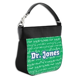 Equations Hobo Purse w/ Genuine Leather Trim w/ Name or Text