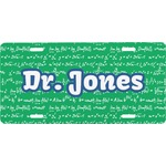 Equations Front License Plate (Personalized)
