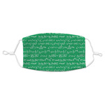Equations Adult Cloth Face Mask (Personalized)