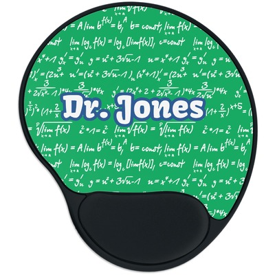 Equations Mouse Pad with Wrist Support