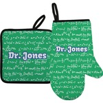 Equations Oven Mitt & Pot Holder (Personalized)