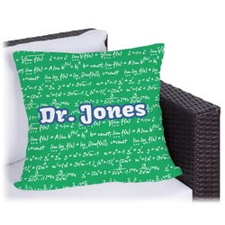 """Equations Outdoor Pillow - 26"""" (Personalized)"""