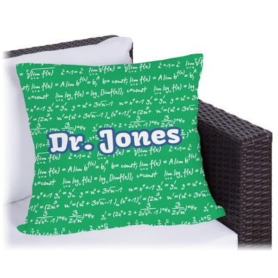 Equations Outdoor Pillow - 20
