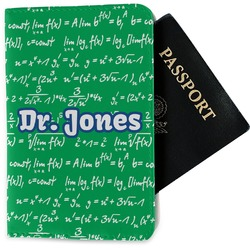 Equations Passport Holder - Fabric (Personalized)