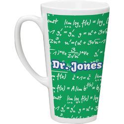 Equations 16 Oz Latte Mug (Personalized)