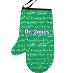Equations Left Oven Mitt (Personalized)