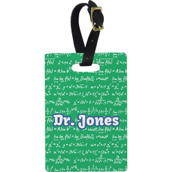 Equations Rectangular Luggage Tag (Personalized)
