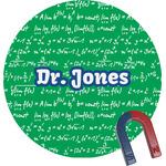 Equations Round Fridge Magnet (Personalized)
