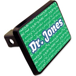 "Equations Rectangular Trailer Hitch Cover - 2"" (Personalized)"