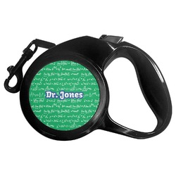 Equations Retractable Dog Leash (Personalized)