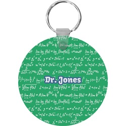 Equations Round Keychain (Personalized)