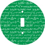 Equations Round Light Switch Cover (Personalized)