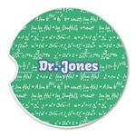 Equations Sandstone Car Coasters (Personalized)