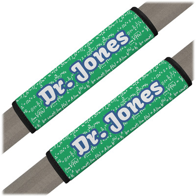 Equations Seat Belt Covers (Set of 2) (Personalized)