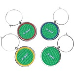 Equations Wine Charms (Set of 4) (Personalized)