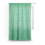 Equations Sheer Curtains (Personalized)