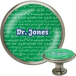 Equations Cabinet Knob (Silver) (Personalized)