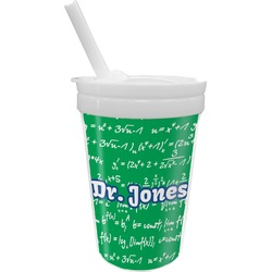 Equations Sippy Cup with Straw (Personalized)