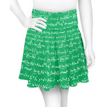 Equations Skater Skirt (Personalized)