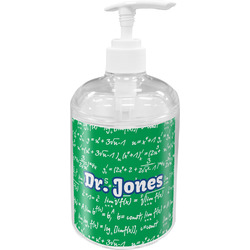 Equations Acrylic Soap & Lotion Bottle (Personalized)