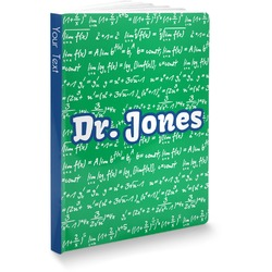 Equations Softbound Notebook (Personalized)