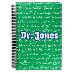 Equations Spiral Bound Notebook (Personalized)