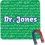 Equations Square Fridge Magnet (Personalized)