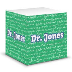Equations Sticky Note Cube (Personalized)