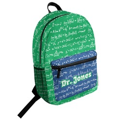 Equations Student Backpack (Personalized)