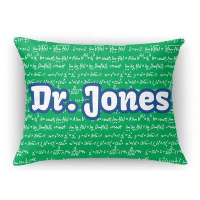 Equations Rectangular Throw Pillow - 18