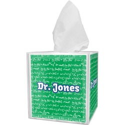 Equations Tissue Box Cover (Personalized)