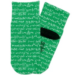 Equations Toddler Ankle Socks (Personalized)