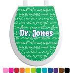 Equations Toilet Seat Decal (Personalized)