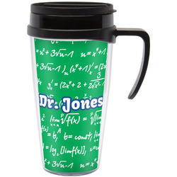 Equations Travel Mug with Handle (Personalized)